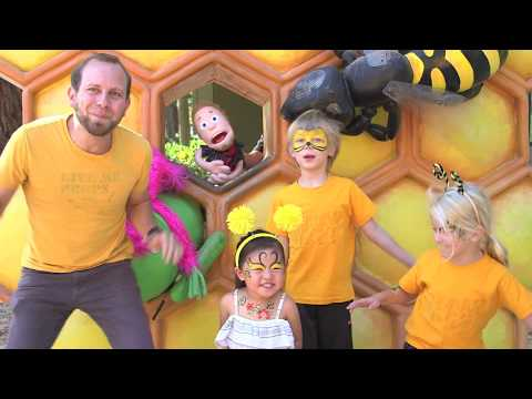 Song for Kids About Honey Bees (Waggle Dance)