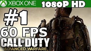 call of duty advanced warfare walkthrough part 1 gameplay 60 fps let s play xbox one review 1080p