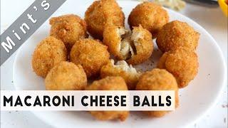 Macaroni Cheese Balls - Indian Breakfast Recipes - Recipes in Hindi - Indian Snacks Recipes - Ep-143