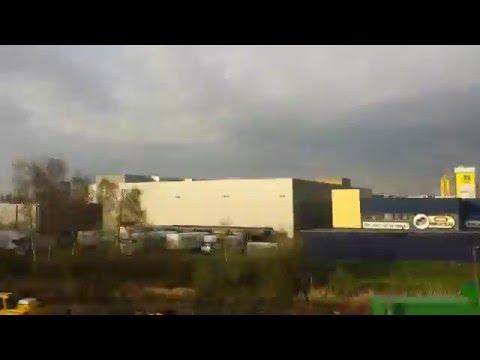 time lapse Amsterdam suburb Netherland