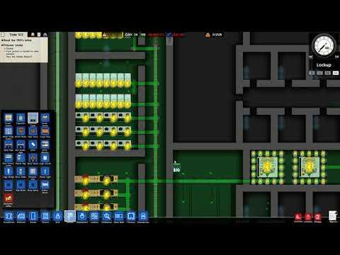 Let's Play Prison Architect Ep #18 ~ Minimum main pt 6 ~ main electrical grid pt 2