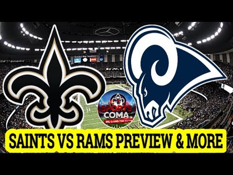 The Sports Coma Show #261 Saints VS Rams Preview & More