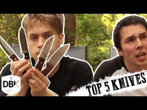 Best Knives on Planet Earth | DBK Top 5 knives!