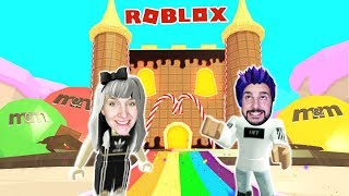 Roblox: FROM THE SWEET BURG KAAN + NINA GEFANGEN AT HARIBOS + M&M's