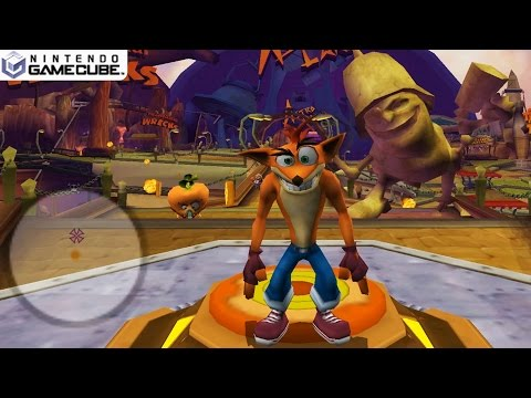 Crash Tag Team Racing - Gamecube Gameplay 1080p (Dolphin GC/Wii Emulator)