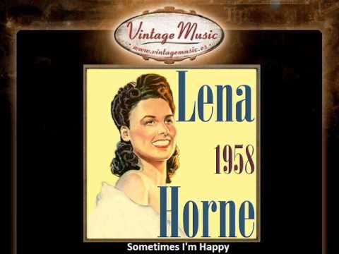 LENA HORNE CD Vintage Vocal Jazz. I Feel So Smoochie , Sometimes I'm Happy ....