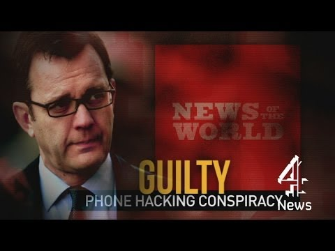 Andy Coulson guilty of conspiring to hack phones