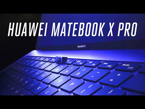 Huawei Matebook X Pro first look