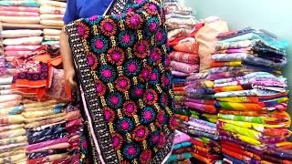 পাইকারি দামে দারুন ফুলকারি ওড়না কালেকশন//wholesale price Fulkari orna collection.