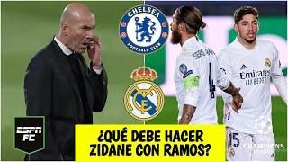 CHAMPIONS Las dudas de Zidane: ¿Ramos y Valverde de titular en el Chelsea vs Real Madrid? | ESPN FC