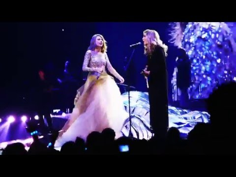Taylor Swift and Alison Krauss when you say nothing at all