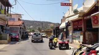 Greece Crete 2012 - Roads of Malia, Hersonissos | Греция Крит 2012 - Малья(Greece Crete trip At this video: --- Malia --- Malia Resort Beach Hotel 3* Candy club Zig Zag club Yiasou Bar Sticky Fingers --- Malia -- Hersonissos --- Alcionides ..., 2012-08-26T17:38:16.000Z)