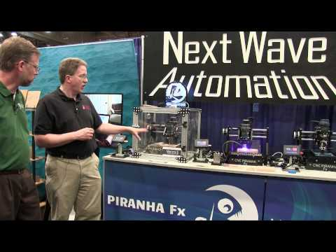 NextWave Automation Piranha Fx - AWFS 2015
