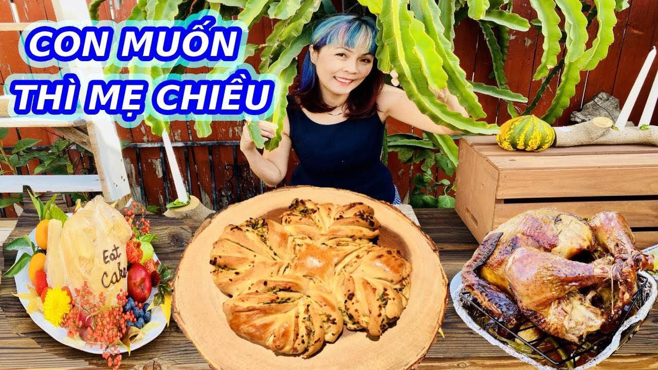 Con Thèm Thì Mẹ Ra Tay | Bánh Mì Bơ Tỏi Bông Tuyết | Snow Flake Garlic Bread