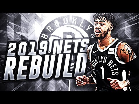5 STARS! 2019 BROOKLYN NETS REBUILD! NBA 2K18