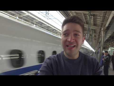 Japan Travel Guide: Shinkansen Bullet Train - Osaka to Tokyo (4K)