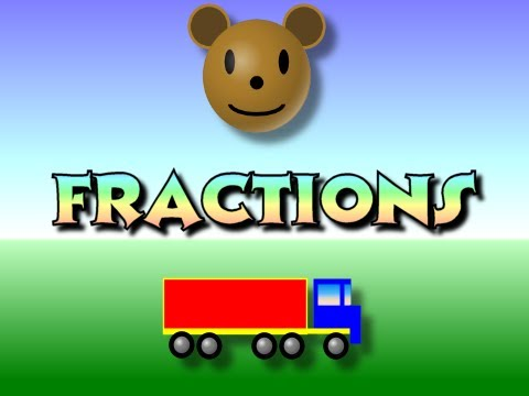 Childrens Fractions  YouTube
