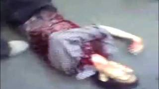 Iran: murdered by sniper rifle DISCRETION IS ADVISED