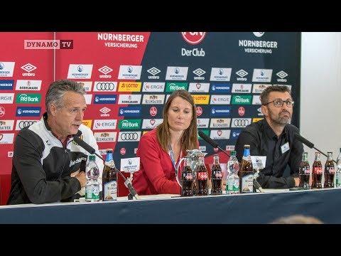 11. Spieltag | FCN - SGD | Pressekonferenz nach dem Spiel