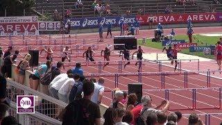 Valence 2014 : Finale 110 m haies Cadets (Mathieu Louisy en 13''88)