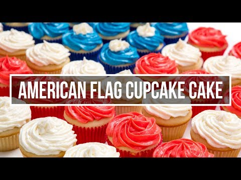 American Flag Cupcake Recipe