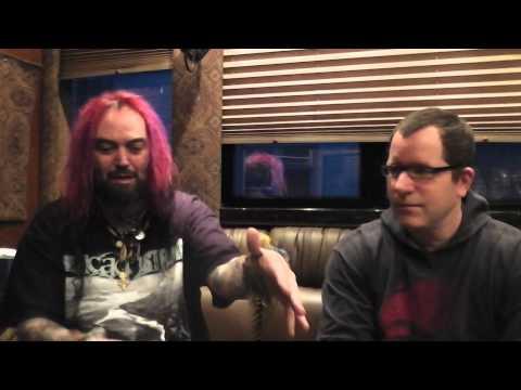 SOULFLY Max Cavalera  Part 2 2013 SEPULTURA Nailbomb METAL RULES! TV