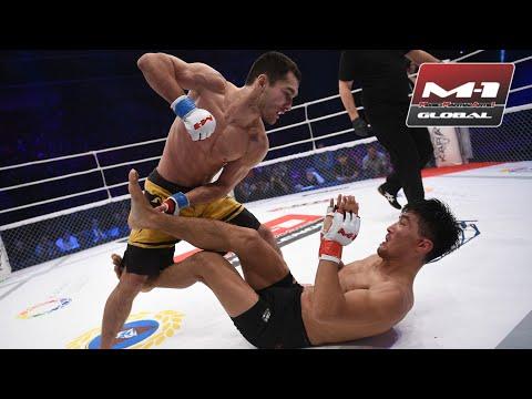 Неудержимый казахстанец продолжает удивлять! Пробил борцу с колена и добил! Дебют Сергея Морозова!