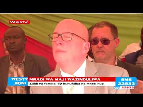 Mradi wa maji wa kima cha milioni 19 umezinduliwa kaunti ya Busia