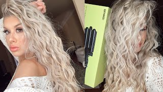 BEACHY WAVES HAIR TUTORIAL - AMIKA High Tide Deep Waver review