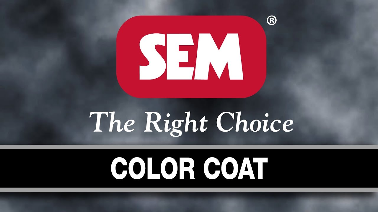 Sem Products Inc Color Coat Youtube