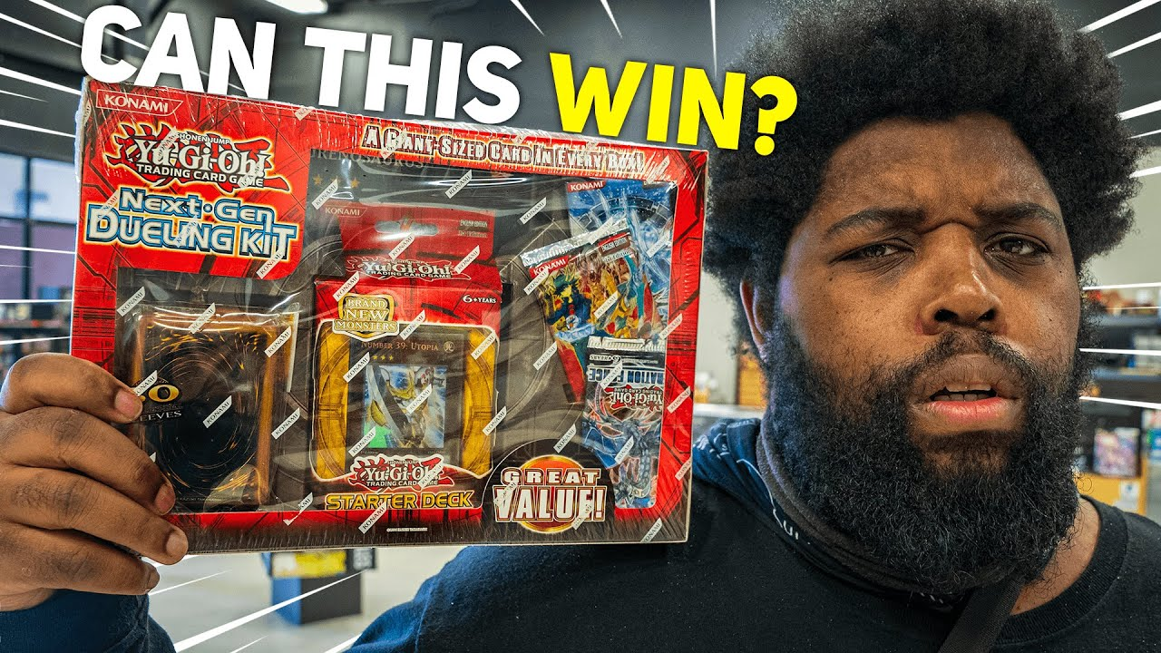 Can This Yu-Gi-Oh Starter Deck Win ONE DUEL?