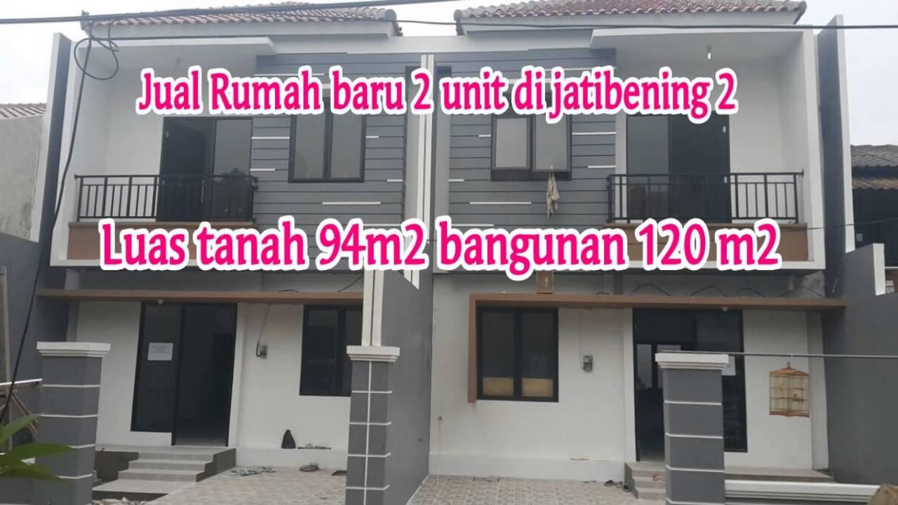 Jual Rumah Baru di Jatibening 2 Bekasi 085280316061 - YouTube