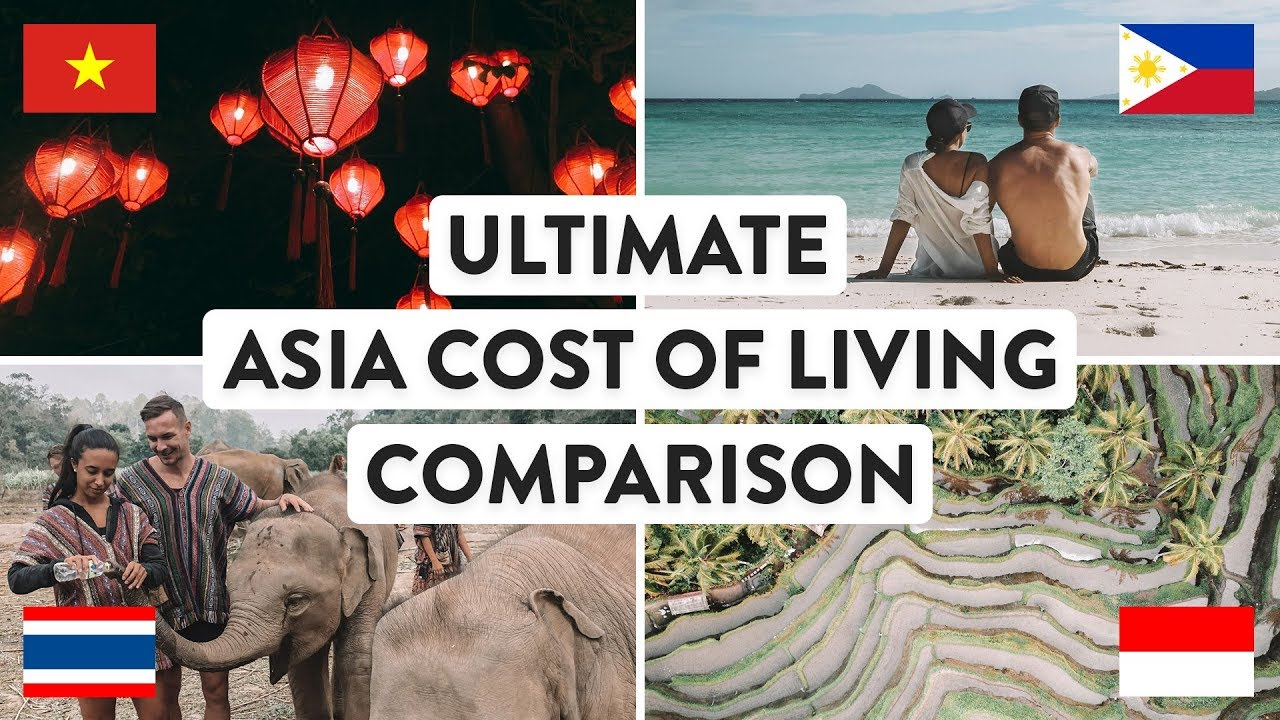 SOUTH EAST ASIA COST OF LIVING | Thailand, Vietnam, Indonesia & Philippines Travel | Digital Nom