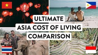 SOUTH EAST ASIA COST OF LIVING | Thailand, Vietnam, Indonesia & Philippines Travel | Digital Nomad