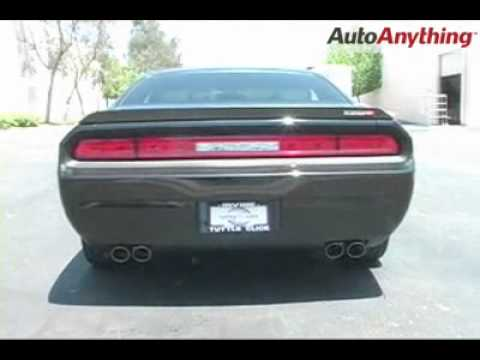 dodge challenger with magnaflow competition exhaust