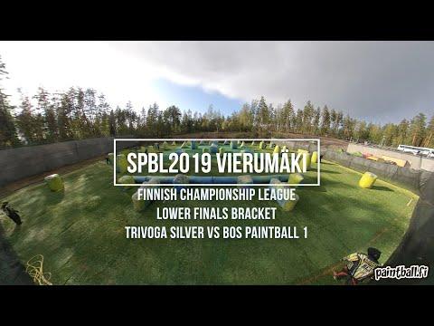 Trivoga Silver vs BOS 1 - SPBL2019 Vierumäki