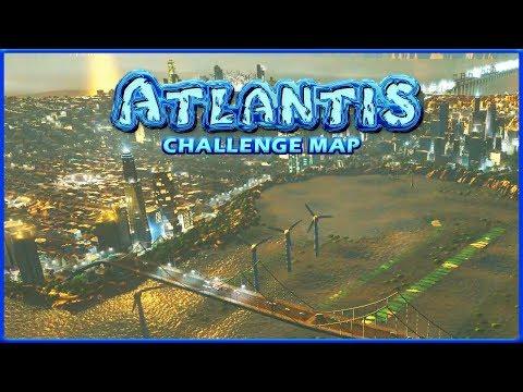 FIGHTING FOR ATLANTIS | Cities Skylines | Atlantis Challenge #8