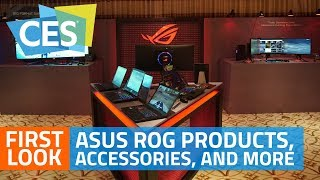 Asus ROG Strix SKT T1 Hero Edition Gaming Laptop and More   First Look