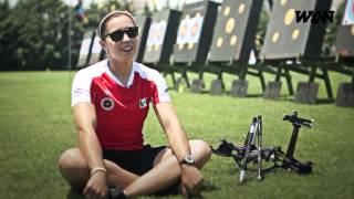 W&W A.F.R. - Antalya - 16 June - Featured Archer - Aida ROMAN (MEX) - World Cup 2013