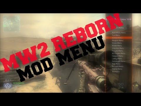 MW2 REBORN MOD MENU By Enstone!!! MW2 GamePlay!