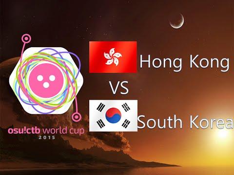 osu! Catch the Beat World Cup 2015 Round of 16 - Match G - Hong Kong vs South Korea