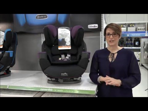 Evenflo SafeMax All In One Car Seat Demo