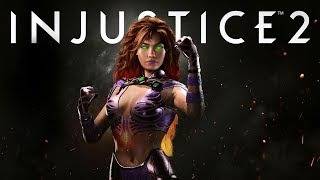 Injustice 2 - Introducing Starfire!