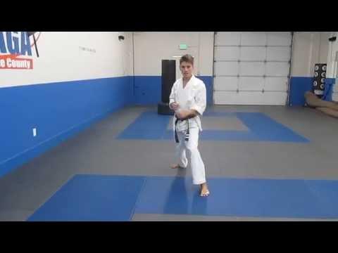 Orange County Academy of Martial Arts (OCAMA): Outside/Inside Kick + Spin