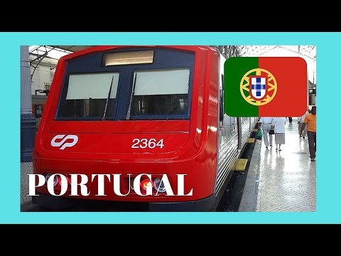 EXPLORING PORTUGAL: My Train Ride From LISBON TO SINTRA 🚈