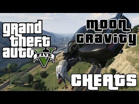 Gta 5 Cheats Moon Gravity