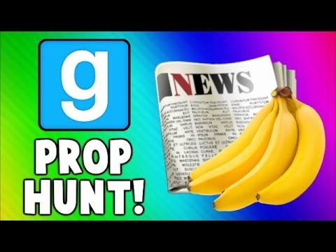 Thumbnail: Gmod Prop Hunt Funny Moments - Fruit Torture, Good NEWS, Killer Toilet! (Garry's Mod)