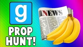 Repeat youtube video Gmod Prop Hunt Funny Moments - Fruit Torture, Good NEWS, Killer Toilet! (Garry's Mod)
