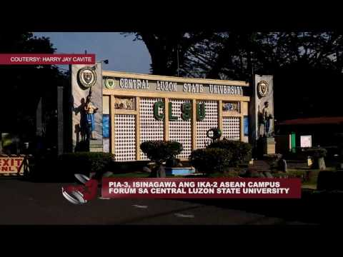 PIA-3, ISINAGAWA ANG IKA-2 ASEAN CAMPUS FORUM SA CENTRAL LUZON STATE UNIVERSITY