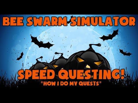*NEW* SPEED QUESTING  Bee Swarm Simulator
